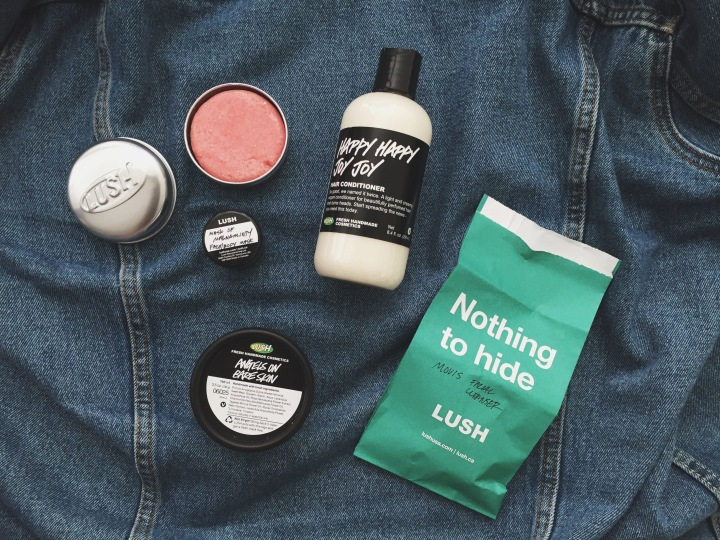 Lush & Jeffrey Campbell haul